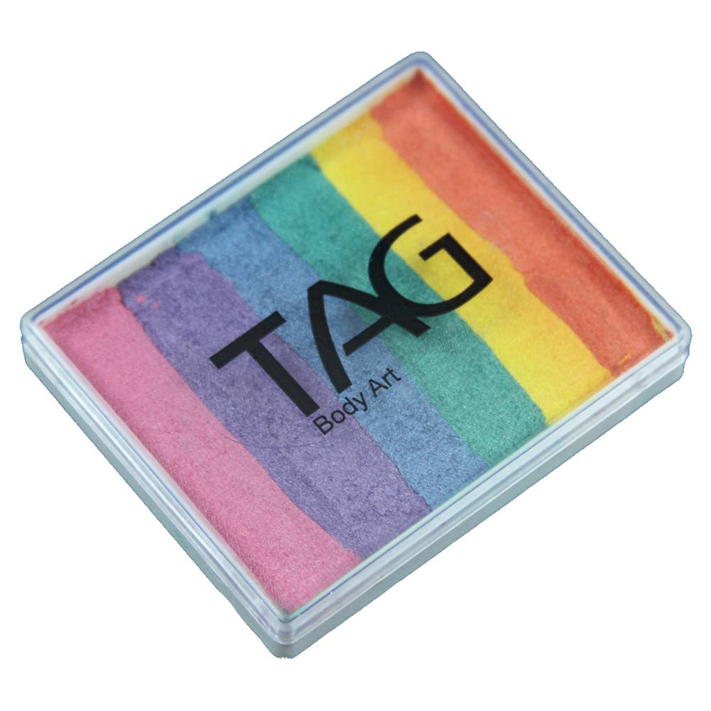 TAG Split Cakes - Pearl Rainbow (1.76 oz/50 gm)