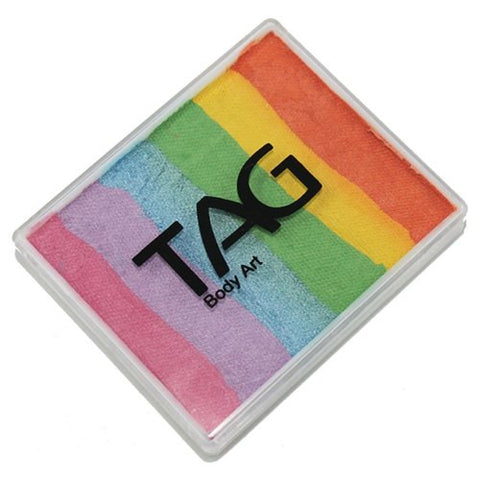 TAG Split Cakes - Pearl Rainbow Delight (1.76 oz/50 gm)