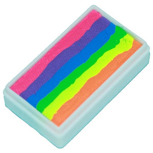 TAG 1 Stroke Split Cakes - Rainbow Neon (1.06 oz/30 gm)