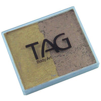 TAG Split Cakes - Pearl Old Gold and Pearl Gold (1.76 oz/50 gm)