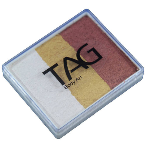 TAG Face Paint Base Blender Split Cakes -  Foxy (1.76 oz/50 gm)