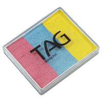 TAG Face Paint Base Blender Split Cakes - Jewel (1.76 oz/50 gm)