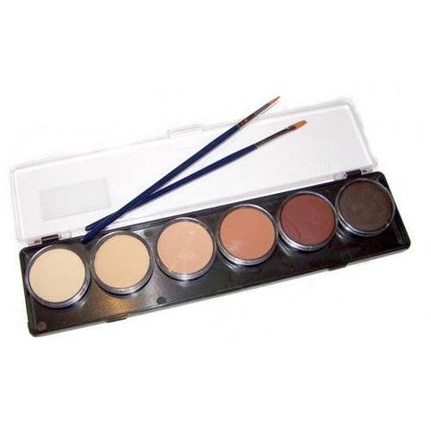 TAG Skin Tones Face Paint Palettes (6 Colors)
