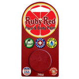 Ruby Red Red Face Paints - Red 250