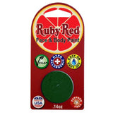 Ruby Red Green Face Paints - Green 550