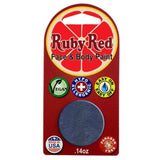 Ruby Red Gray Face Paints - Dark Gray 120