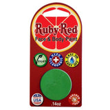 Ruby Red Green Face Paints - Lime 540