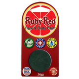 Ruby Red Green Face Paints - Forest Green 580