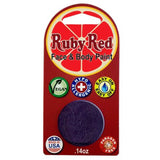 Ruby Red Face Paints - Deep Purple 780