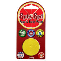 Ruby Red Yellow Face Paints - Sunflower 330