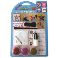 Ruby Red Glitter Tattoo Kit - Valentine