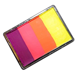 Kryvaline Creamy Line Split Cake - Fluorescent Sunset-1.4 oz/40 gm