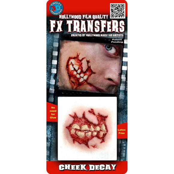 Tinsley Small 3D FX Transfer - Cheek Decay
