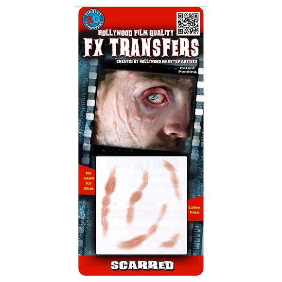 Tinsley Small 3D FX Transfer - Scarred
