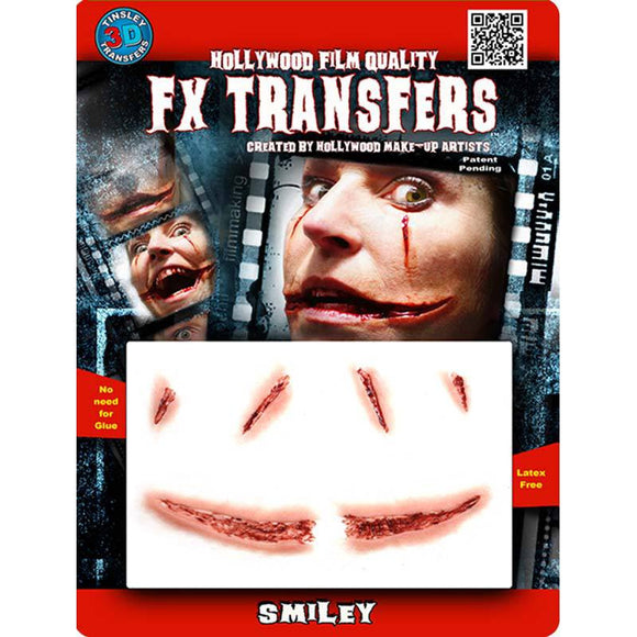 Tinsley Medium 3D FX Transfer - Smiley