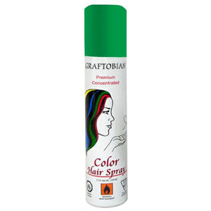 Graftobian Color Hair Spray - Green (5 oz)