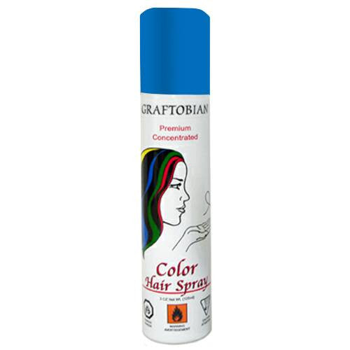 Graftobian Color Hair Spray - Blue