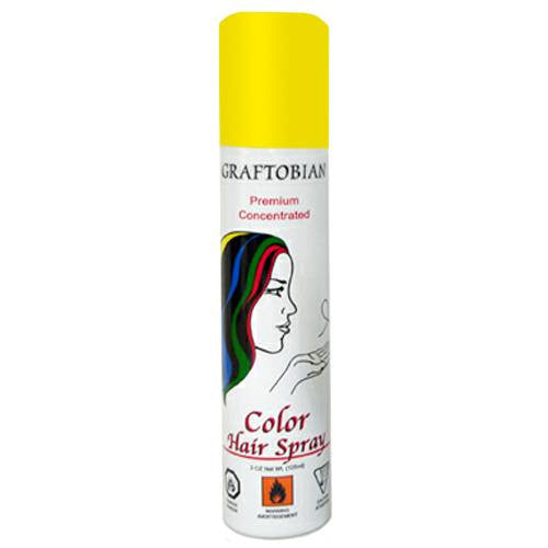 Graftobian Color Hair Spray - Yellow