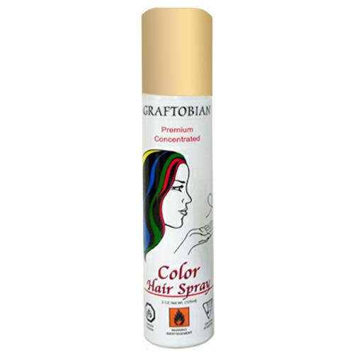 Graftobian Color Hair Spray - Gold