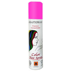 Graftobian Color Hair Spray - Fluorescent Pink