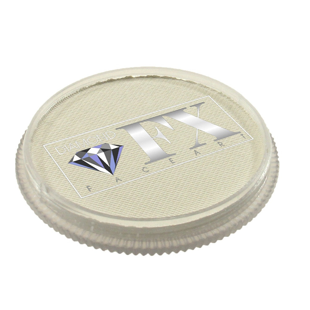 Diamond FX Face Paints - White 01