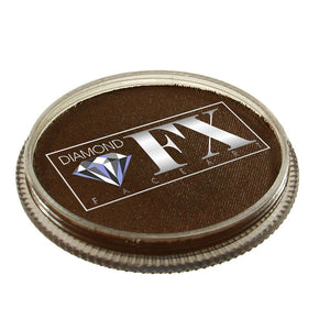 Diamond FX Face Paints - Light Brown 18