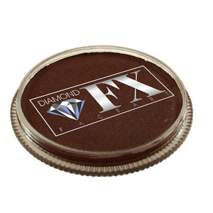 Diamond FX Face Paints - Dark Brown 20