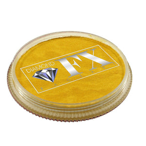 Diamond FX Face Paints - Yellow 50