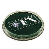 Diamond FX Face Paints - Dark Green 62