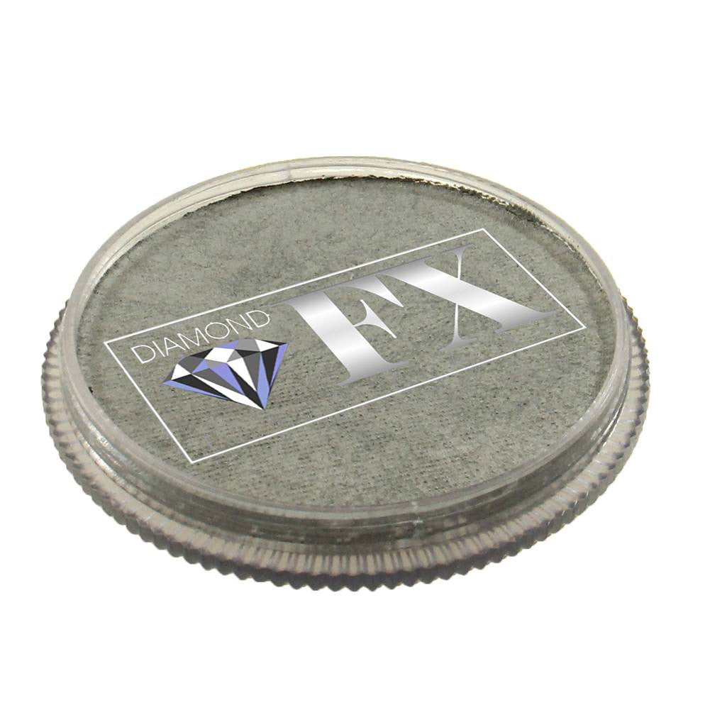 Diamond FX Face Paints - Metallic Silver M200