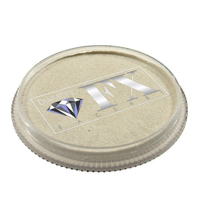 Diamond FX Face Paints - Metallic White M01
