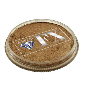 Diamond FX Face Paints - Metallic Old Gold M185