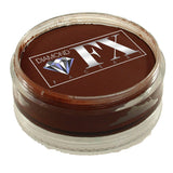 Diamond FX Brown Face Paints - Dark Brown 20