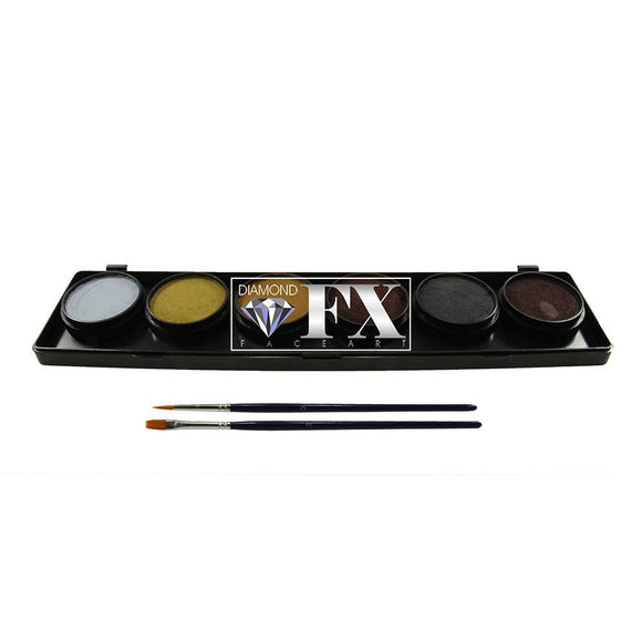 Diamond FX Monster Face Paint Palettes (6/colors - 10 gm)