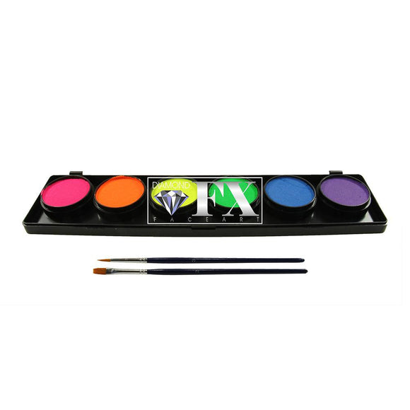 Diamond FX Neon/Blacklight Palette (6/colors - 10 gm)