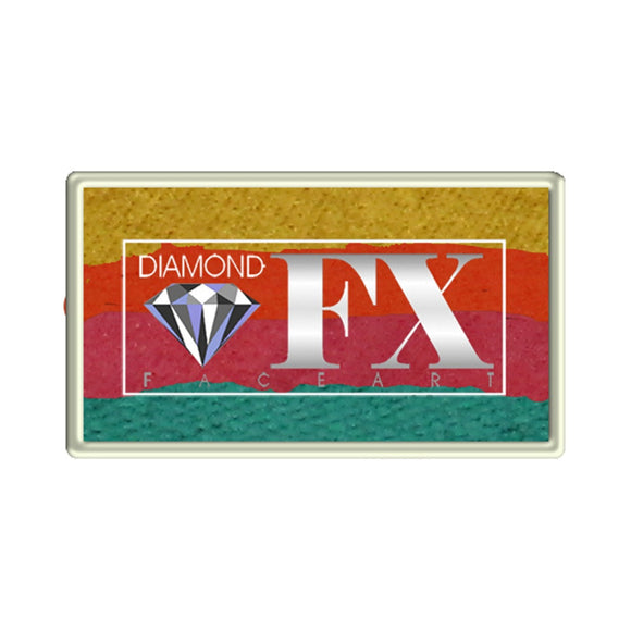 Diamond FX Custom Split Cakes - Caribbean Sunset (1.06 oz/30 gm)
