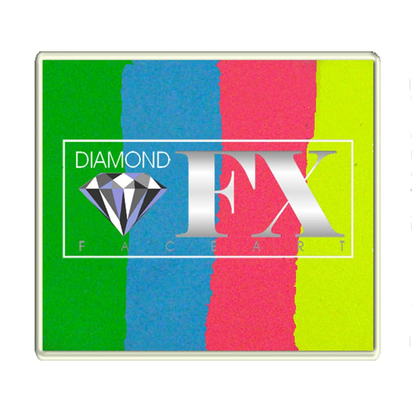 Diamond FX Split Cakes - Large Happy Birthday RS50-98 (1.76 oz/50 gm)