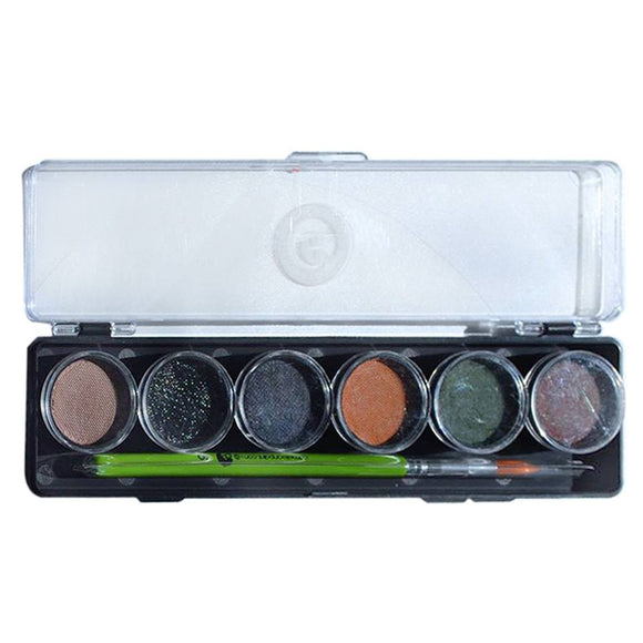 Cameleon Scare Me Mini Face Paint Palette (6/colors - 8 gm)