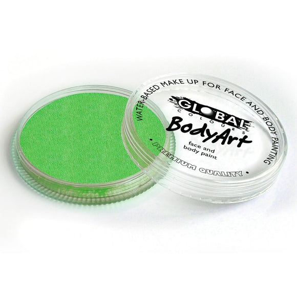 Global Body Art Face Paint - Standard Lime Green (32 gm)