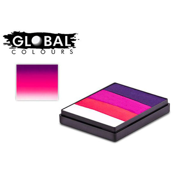 Global Body Art Rainbow Split Cake - Oxford (50 gm)