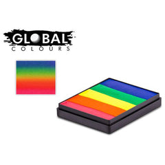 Global Body Art Rainbow Split Cake - Neon Rainbow (50 gm)