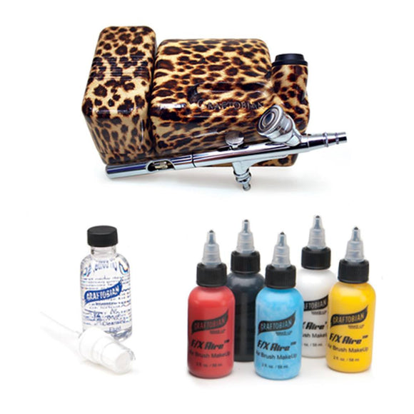 Graftobian Walk Around FX Aire Airbrush System - Leopard