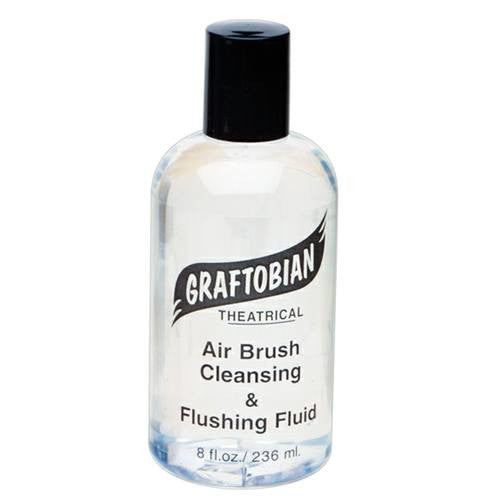 Graftobian Airbrush Cleaning Solution (8 oz)
