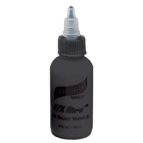Graftobian F/X Aire Airbrush Makeup-Black (2 oz/58 ml)