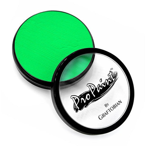 Graftobian Green ProPaint - Neon Radioactive Green 77020 (1 oz/30 ml)