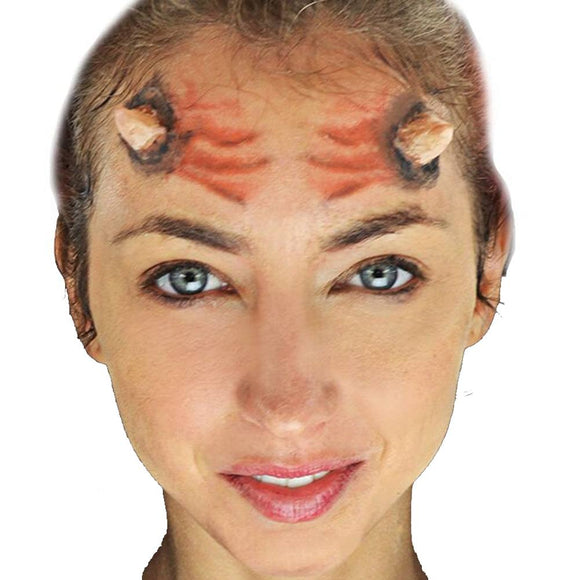 Woochie 3D FX Makeup Kit - Horns