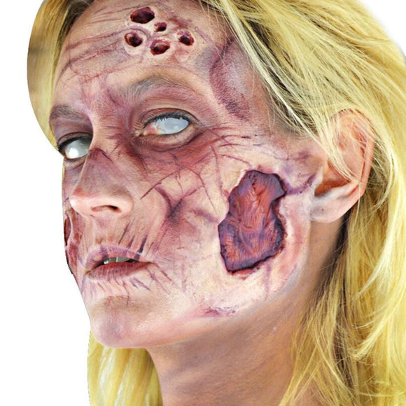 Woochie Deluxe FX Makeup Kits - Zombie (Female)