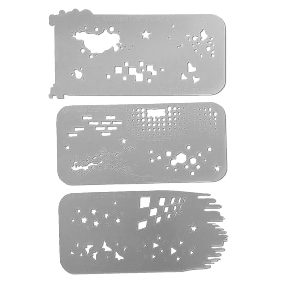 GraffitiEyes Stencil Kit - Ultimate GraffitiEyes