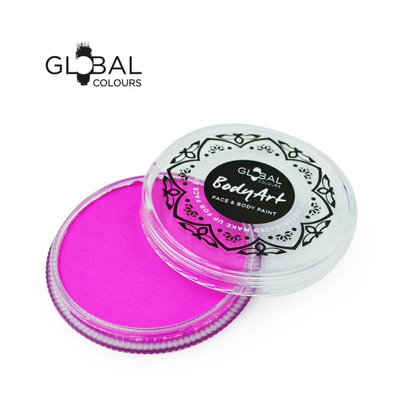 Global Body Art Face Paint -  Standard Candy Pink (32 gm)