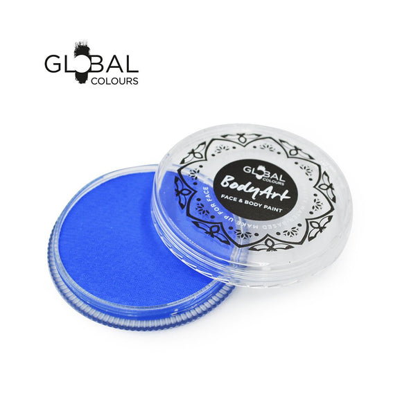 Global Body Art Face Paint -  Standard Fresh Blue (32 gm)